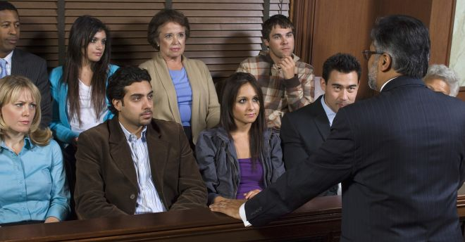 Jury-in-court