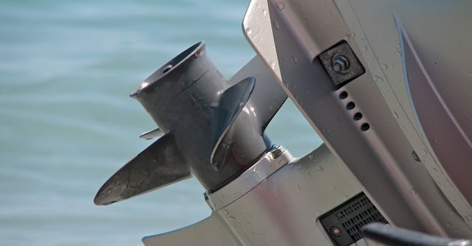 Outboard Motor Boat Prop