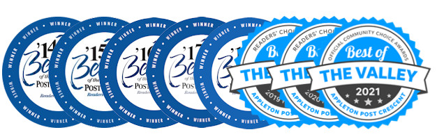 Best of the Valley Badges 2014 - 2021